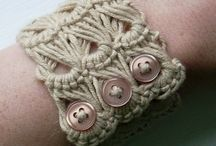 Crochet Jewelry / I think that crochet jewelry can be super fashionable and I want to share that with others!