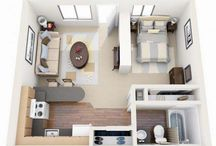 small apartments floorplans