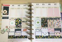 Meu planner / Meu planner 2016/2017. The happy planner