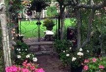 Garden schic