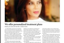 Naila Malik MD In Media / Naila Malik MD is regularly featured in print, web and Television as an expert consultant or health and beauty adviser.