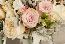 Blushing Bride / An April wedding in whites and greens, with touches of blush pink / by Pamela Lada