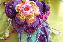 flowers- textile