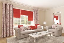 New Curtains and Roman Blinds / The new collection of curtain and roman blind fabrics from Style Studio - window dressing inspiration for the home.