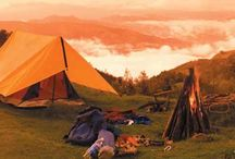 Adventure Camping /  Camping is a very enjoyable outdoor recreational activity that can be enjoyed by a group of friends or family.