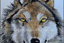 Save the Wolf Population / by Bo Tamaki