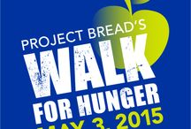 Walk for Hunger 2015 / Project Bread's 47 annual Walk for Hunger is on Sunday, May 3, 2015 with the goal of ending hunger in Massachusetts.