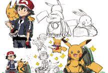 Pokes / about pokemon draw