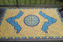 my work of mosaics