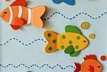 fish card craft