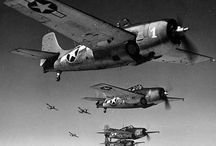 Aircraft of WW2 / Fighters and Bombers  / by Bob Wright