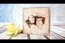 Φωτογραφίες σε καμβά και ξυλο