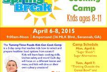Spring Break Camps in Savannah, Hilton Head Is. 2015 / Spring Break Camps 2015 for children in Savannah & the Lowcountry