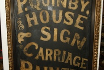 1800s / Victorian Era Signage and Logos