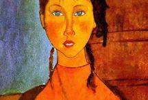 Amedeo Modigliani e suas pricipais pinturas