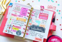 Planner Love / Planner stuff