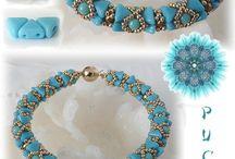 créations Puca Keops / Bracelets et colliers / by Francoise