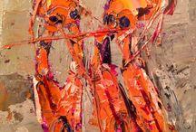 Colette's paintings December 2014