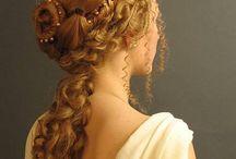 vakkert hår