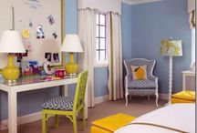Blue for girls rooms