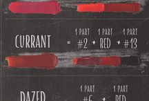 ABH Lip Palette Mixes