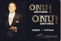 10 Kasım / Ulu Önder Mustafa Kemal Atatürk'ü Saygı ve Özlemle Anıyoruz!  #10kasim #anma #ataturk