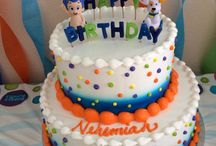 Nehemiah's Bubble Guppies 2nd Birthday Party! / Toddler Boy Bubble Guppies Birthday Party! Background and food for party. 2nd birthday party! / by Amber Guzman