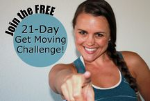 The FREE 21 Day Get Moving Challenge / Would you love to create a healthier relationship with your body? How about actually enjoying + looking forward to movement? Then this FREE challenge is for you. No deprivation, grueling workouts or calorie counting! http://21DayGetMovingChallenge.com