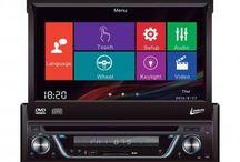 "DVD Automotivo Leadership Retrátil 7"" Touch Screen - Entrada Auxiliar e USB"