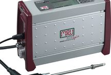 Mobil ipari méréstechnika füstgázelemzői