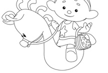 Cloudbabies coloring book