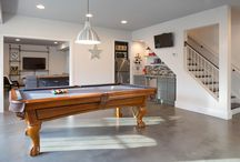 Basement Industrial and Rustic Design Ideas