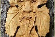 Träsnideri
