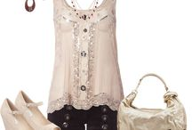 Summer Closet/White,Beige or Creams or Lace outfits / by Kim Boyette