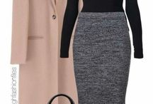 Pencil skirt outfits.