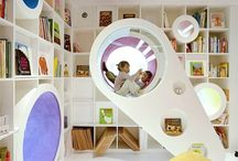 Kids play spaces and furniture / by Annekè Hill