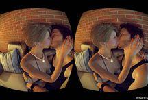 Virtual reality girls / adult virtual reality