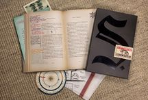 """""""S"""" - by Doug Dorst and J.J. Abrams / Exploring """"Ship of Theseus"""" and its marginalia, inserts, foreword and footnotes."""