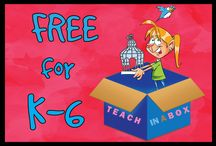 FREE for K-6 / FREE for K-6. Items found on Teach in a Box that are FREE.