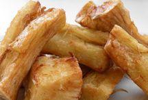 Cassave gebakken