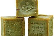 Savon de Marseille / Traditionally made Savon de Marseille Ideal for all skin types.