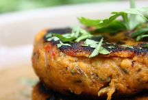 sweet potato spicy patties