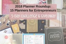 Lifestyle: Planners / Planners for home, business & blogging, family, and fitness.   Also contains pins for how to use your planner most efficiently.