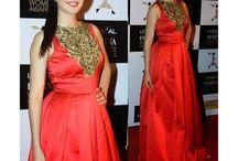 Katrina Kaif Red Anarkali Suit - Anarkali Suit   Zakasi.com