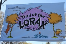 Trail of the Lorax / The Trail of the Lorax is a 3-dimensional, interactive experience that shares the true story of an animal in peril - the endangered orangutan. Brought to you in partnership with Dr. Seuss Enterprises L.P., this engaging exhibit tells a story of conservation and saving wildlife. The Trail, which will engage guests of all ages, is the true tale of the orangutan who depends on trees just as the Brown Bar-ba-loots and the Humming-Fish depend on the truffula trees. / by Philadelphia Zoo