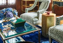 Traditional Home 2015 Junior League of High Point Designer Showhouse / Rooms designed by Michelle Workman featuring furnishings by French Heritage.