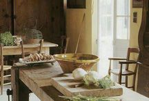 Kitchens to cook in. / Rustic and country kitchens