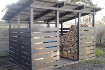 Wood shed ideas