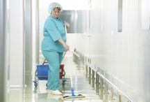 Medical Cleaning Services / Medical facilities can be difficult to clean -- learn more here about tips and tricks to keep it clean and how a professional cleaning service can help!