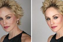 Photoshop előtt és után
